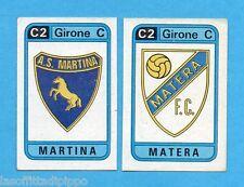 PANINI CALCIATORI 1983/84 -Figurina n.574- MARTINA+MATERA - SCUDETTO -Rec