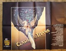 Clash Of The Titens Uk Quad Film Poster