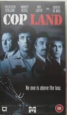 COP LAND, SYLVESTER STALLONE , CERT 18, VHS-PAL VIDEO