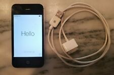 Apple iPhone 4 - 32GB - Black (Verizon) A1349 (CDMA) Charger Included