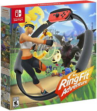 Ring Fit Adventure [Nintendo Switch Sports Fitness Ring-con Leg Strap Included]