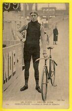 CPA CYCLISME VÉLODROME TRACK CYCLING BAHNRAD SPRINTER SCHWEIZ SUISSE DOERFLINGER