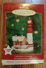 Hallmark Keepsake Ornament Lighthouse Greetings 2000