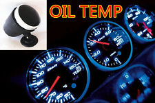 JDM CAR TRUCK BLUE LED RACER ELECTRONIC WATER/  OIL TEMPERATURE GAUGE METER