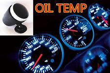 JDM CAR TRUCK BLUE LED RACER ELECTRONIC WATER/  OIL TEMPERATURE GAUGE METER