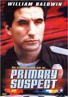PRIMARY SUSPECT DVD - William Baldwin - 2000 Thriller Movie - Region 4 - RARE !
