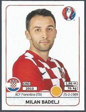 PANINI EURO 2016- #447-CROATIA-MILAN BADELJ