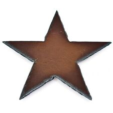 "Rustic Country Western Rusted Patina Iron Metal Cutout Star 3.5"" Fridge Magnet"