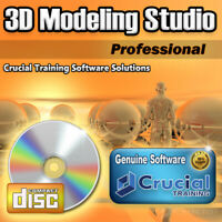 3D Modeling Studio Pro Solid Design Software Graphics Animation 3D Rendering