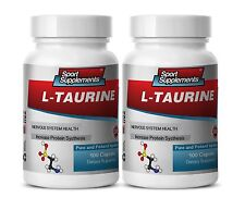 Amino Acid Complex - L-Taurine 500mg - Mood & Motivational Benefits 2B
