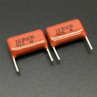 10/100PCS CBB NISSEI MMHC 103K 630V 0.01uF 10nF P10 Metallized Film Capacitor