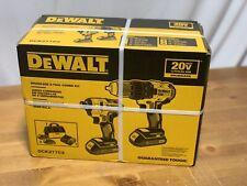 DeWalt 2 Tool Combo Kit w/ 2 batteries DCK277C2 20V MAX Brushless Cordless