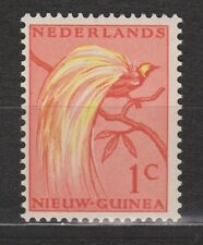Indonesia Netherlands New Guinea 25 MNH PF 1954 Paradijsvogel Paradise bird