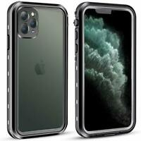 For Apple iPhone 11 Pro Max Waterproof Case Cover w/ Built-in Screen Protector