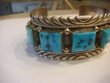 Indian Turquoise Bracelet Fantastic Antique Native American
