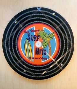Decorative Wall Hanging Record Decor- Surfs Up Top Ten Tunes of All Time Vinyl!