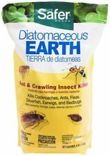 Safer Brand Diatomaceous Earth Bed Bug Flea and Ant Crawling Insect Killer 4 lb
