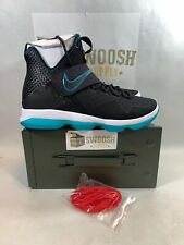 814bacdd79106 Nike Lebron 14 PRM Red Carpet Mens 943323-002 Black Glass Blue Shoes Size  9.5