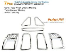Interior Chrome Cover Molding Trim Kit K-327 For HYUNDAI 2010 2011 2012 Santa Fe