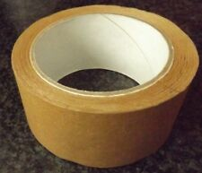 NEW STRONG BROWN PICTURE FRAMING MASKING TAPE 50mm WIDE 25 METERS LONG