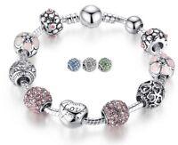 💎 Top Bettelarmband Charmarmband Schmuck Geschenk Charm-Armband 💎 Pandora Art