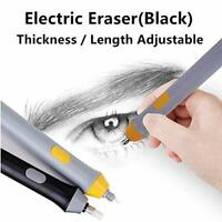 Sinzau Electric Eraser Kit with 23 Eraser Refills, Battery Operated Auto Pencil