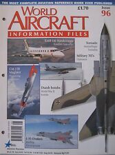 World Aircraft Information Files No 96 SAAB J35 Draken cutaway drawing & poster