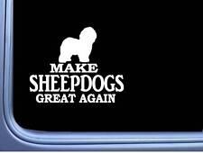 """Old English Sheepdog Maga L700 Dog Sticker 7"""" decal"""