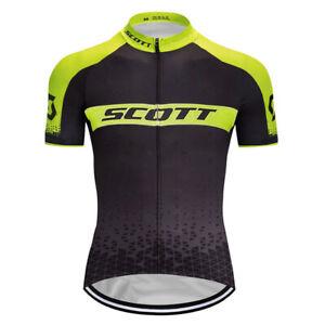 New Mens Cycling Jersey Bib Short Bicycle Bike MTB Shirt Team Top Tight Clothing