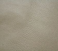 189 sf 3.5 oz. Lt. Gray HOLLY HUNT Upholstery Cow Hide Leather Skin  d5ey -zb