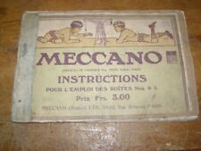 Ancien livre d'instruction Meccano:  Livre N°0-3, 64 pages