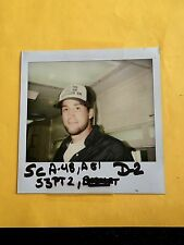 Dumb & Dumber Polaroid SeaBass Cam Neely Wardrobe Photo Script Page Schedule and