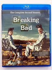 Breaking Bad: The Complete Second Season (Blu-ray Disc, 2014, 3-Disc Set)