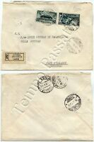 1154 - Repubblica - Salone automobile su raccomandata per Capo d'Orlando, 1951