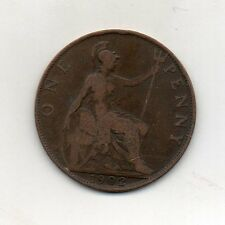 GREAT BRITAIN One Penny 1902