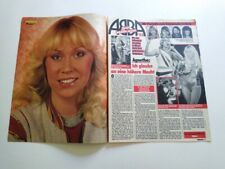 Agnetha Faltskog Abba clippings Germany Formula 1 Coca Cola Cok ad