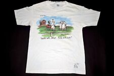 Far Side T-Shirt Cow Beef Eater BBQ Vintage 80s 1987 Jessy You´re SICK Comic L