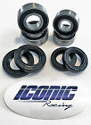 88-92 Honda TRX 300 Fourtrax 300 2x4 BOTH Front Wheel Bearing & Seal Kits