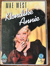 Mae West VICTOR MCLAGLEN Klondike Annie ~ 1936 CLÁSICA GB DVD