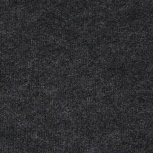 Anthracite Black Budget Cord Carpet, Cheap Thin Temporary Flooring, Exhibition