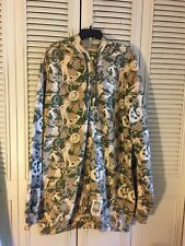 Ecko Unltd. Mens Full Zip Jacket with Hood Size 3XL Beige/Green