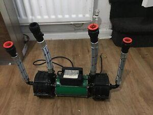Salamander Right RSP100 3.2 Bar Shower Pump (read Pls Leaking)