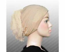 WHOLESALE (LOT OF 7)Bonnet Chemo Turban & Headband Hijab Beanie,Head cover CAP