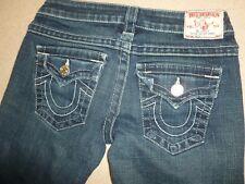 TRUE RELIGION Womens Joey Jeans sz 26x30