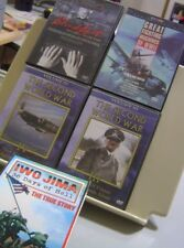 LOT OF 6 WWII DVDs IWO JIMA Fall of France FIGHTING MACHINES Hitler's Secretary