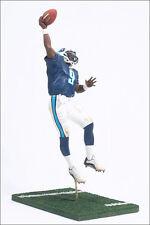McFarlane NFL Series 8 Tennessee Titans Steve McNair Blue Jersey Loose.