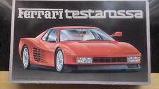 Vintage Fujimi 1/16 Ferrari Testarossa model kit.