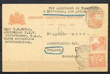 WELTEVREDEN 11.5.26  per L.P. de Marseille a Rotterdam DEN HAAG       Gl448