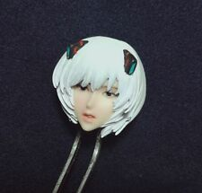 1/8 Scale Ayanami Rei Girl Anime Head Carving F 1/6 Scale 12'' Action Figure