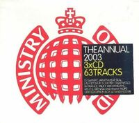 THE ANNUAL 2003 various (3X CD, mixed, compilation, limited-edition, box set)